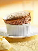 Blackberry Apple Souffle in Ramekin