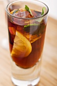 Glass of Pimms with Fruit