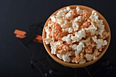 Organic Halloween Popcorn