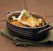 Catfish mit Koriandergrün aus der Cajunküche