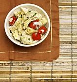 Artichoke and Tomato Salad
