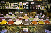Window of Spice Shop in Venice Italy