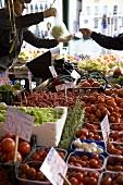 Rialto Market in Venice Italy