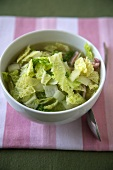 Bowl of Cabbage and Bacon Soup