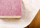 Cabernet Soaked Cheddar on Paper