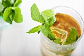 Mint Julep From Above