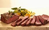 Sliced Tri-tip Steak