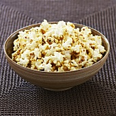 Garlic and Herb Buttered Popcorn