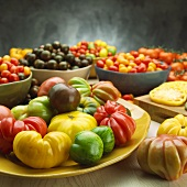 Large Assortment of Tomatoes
