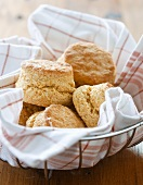 Basket of Cornmeal Biscuits
