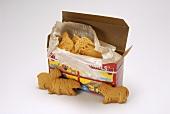Open Box of Animal Crackers