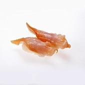 Trough Shell Sushi on White