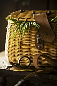 Fish Creel; (Basket)