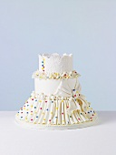 Candy Dots Wedding Cake