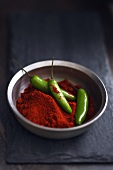 Jalapeno Peppers in Red Curry Powder