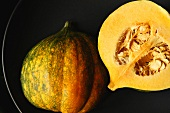 Acorn Squash; Halved; With Seeds