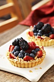Fruit Almond Tartlets