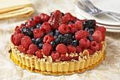Whole Berry Almond Tart