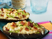 Baked Potatoes mit Bacon