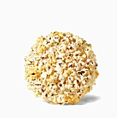 Popcorn Ball on a White Background
