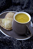 Mug of Butternut and Parsnip Soup