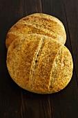 Pane casareccio (Rustic bread, Italy)