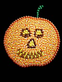 A Jack o'Lantern Made From Candy