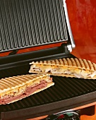 Panini Sandwiches on Panini Press
