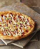 Chipotle Scallion Pizza