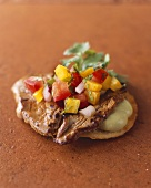 Beef and Salsa Appetizer
