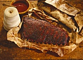 Barbecue Ribs in Paper
