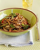 Asian Buckwheat Soba Noodles with Vegetables