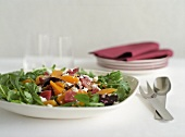 Beet Salad with Arugula and Chevre