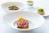 Three Gourmet Lobster Dishes