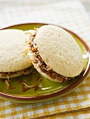 Alfajores (cookie sandwiches with caramel and coconut, Argentina)