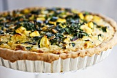 Veggie Quiche in Baking Pan