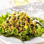 Curried Red Lentil Salad