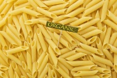 Organic Penne Pasta; Sign