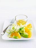 Fenchelsalat mit Orangendressing