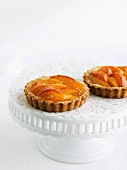 Two Apricot Tartlets
