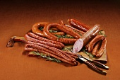 Assortment of Smoked Sausage