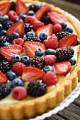 Fresh Berry Vanilla Tart