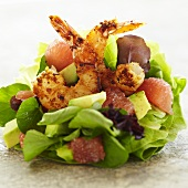 Shrimp Salad with Grapefruit Segments