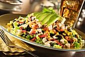 Southwestern Chicken Salad with Avocado