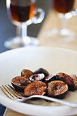 Baked Figs with Aged Balsamic Sherry