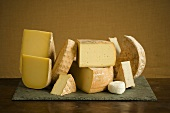Selection of Vermont Cheeses
