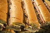 Many Cuban Sandwiches