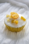 Fairy Cake with Kumquat Topping