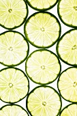 Lime slices (macro zoom)