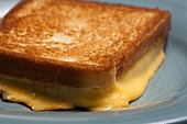 Toasted cheese sandwich (close-up)